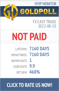 FX Easy Trade HYIP Details on GoldPoll