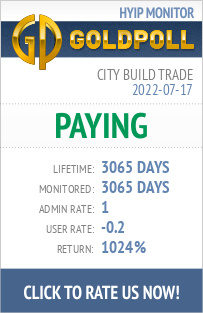 City Build Trade   HYIP Details on GoldPoll