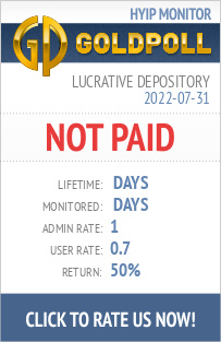 Lucrative Depository HYIP Details on GoldPoll