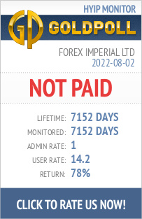 Forex Imperial Ltd HYIP Details on GoldPoll