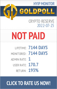 Crypto Reserve HYIP Details on GoldPoll