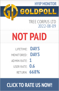 Tree Corpus Ltd HYIP Details on GoldPoll