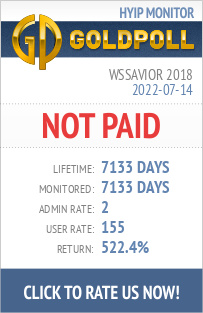 Wssavior 2018 HYIP Details on GoldPoll