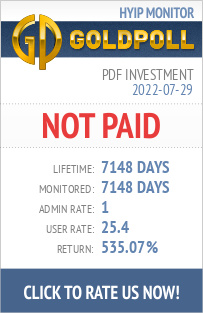 PDF Investment HYIP Details on GoldPoll