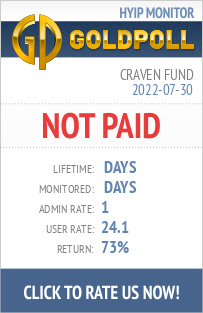 Craven Fund HYIP Details on GoldPoll