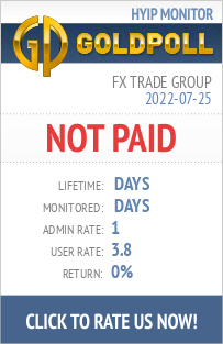 Fx Trade Group HYIP Details on GoldPoll