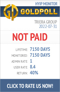 Triera Group HYIP Details on GoldPoll