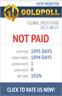 Global Okex Fund   HYIP Details on GoldPoll