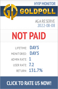 Aga Reserve HYIP Details on GoldPoll