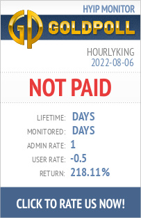 HourlyKing HYIP Details on GoldPoll