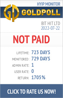 Bit Hit Ltd HYIP Details on GoldPoll