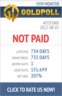 AfisFund HYIP Details on GoldPoll