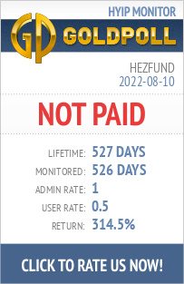 Hezfund HYIP Details on GoldPoll