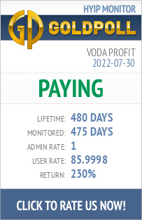 Voda Profit HYIP Details on GoldPoll